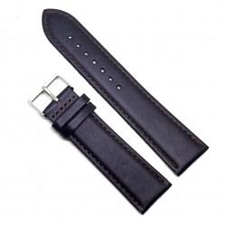 Curea pentru ceas din piele naturala Maronie - 20 mm - C3050