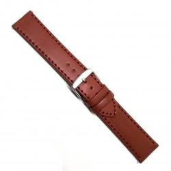 Curea de ceas din piele naturala Maro - 18mm / 20mm / 22mm / 24mm- C3056