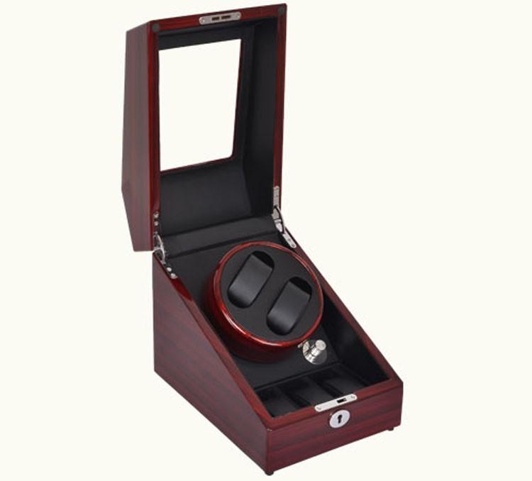 Watch Winder 2 + 3 Dispozitiv pentru intoarcere ceasuri automatice WW23LR thumbnail