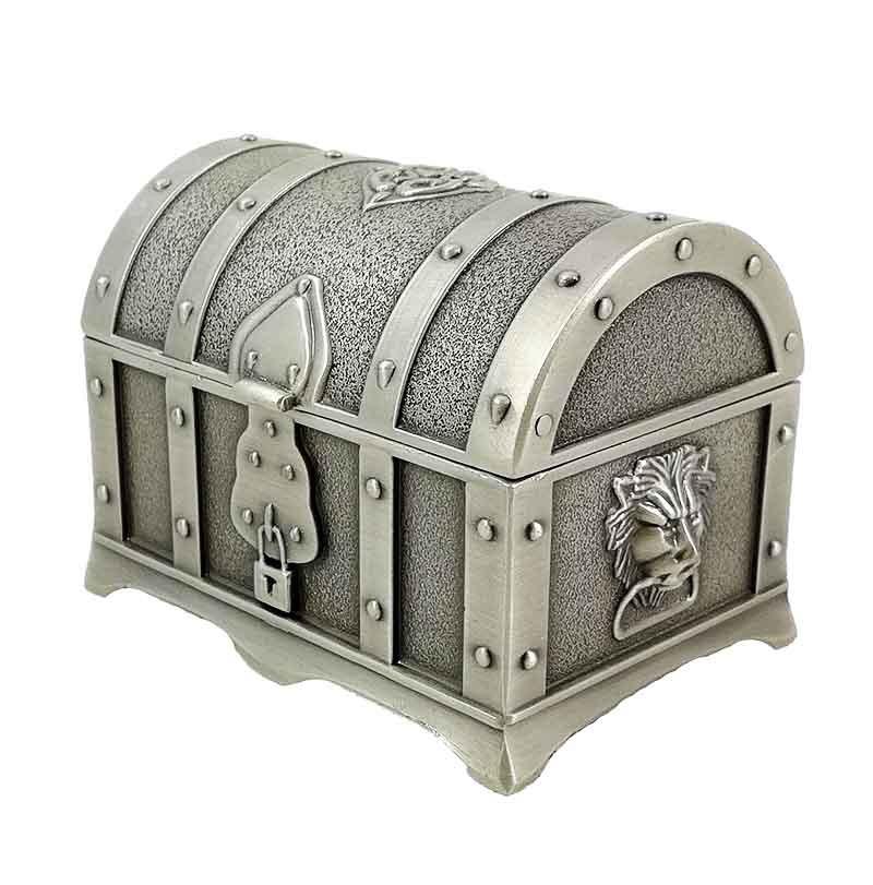 Caseta Bijuterii Antimoniu Treasure Chest Wz212