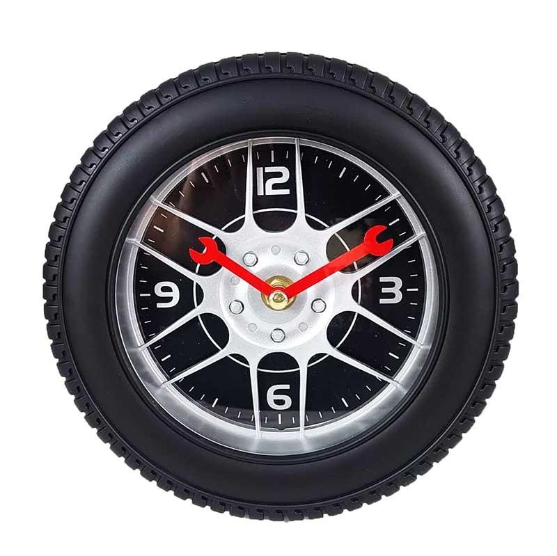 Ceas De Perete Anvelopa Mag Wheel Mini Negru / Auriu Wz2368