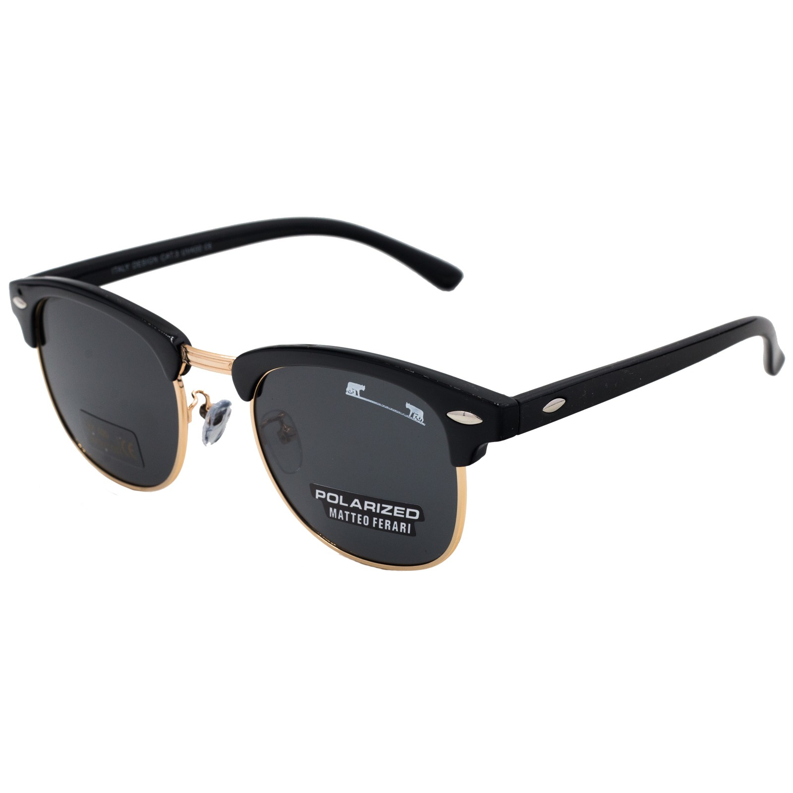 Ochelari De Soare Unisex Matteo Ferari Clubmaster Mfjh-012